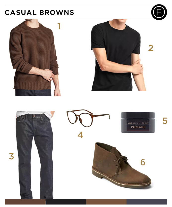 Grant Gustin S Casual Browns Getup Famous Outfits