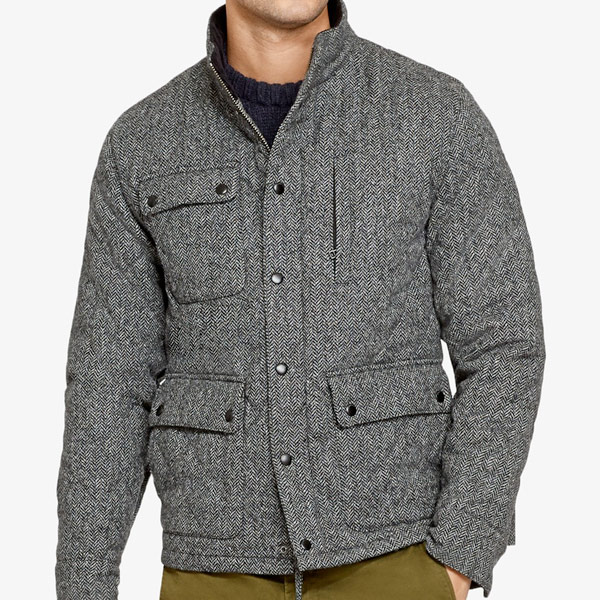 Wool Tweed Jacket