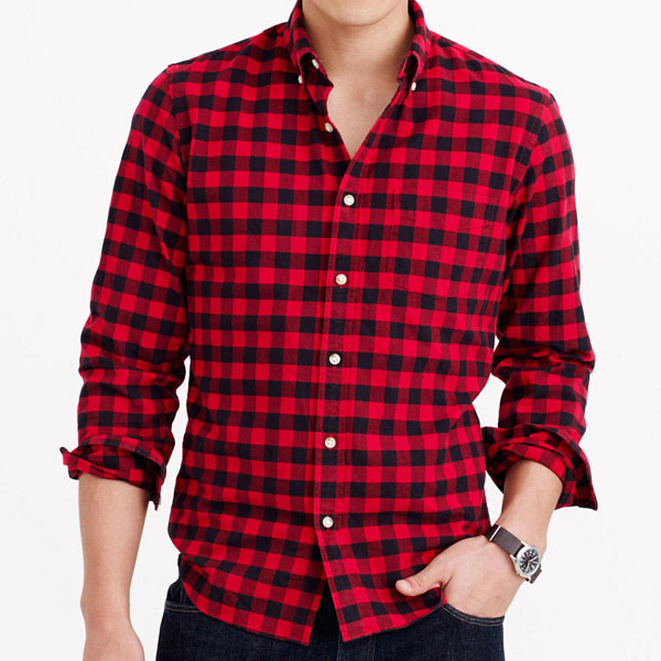 Oxford Buffalo Check Shirt