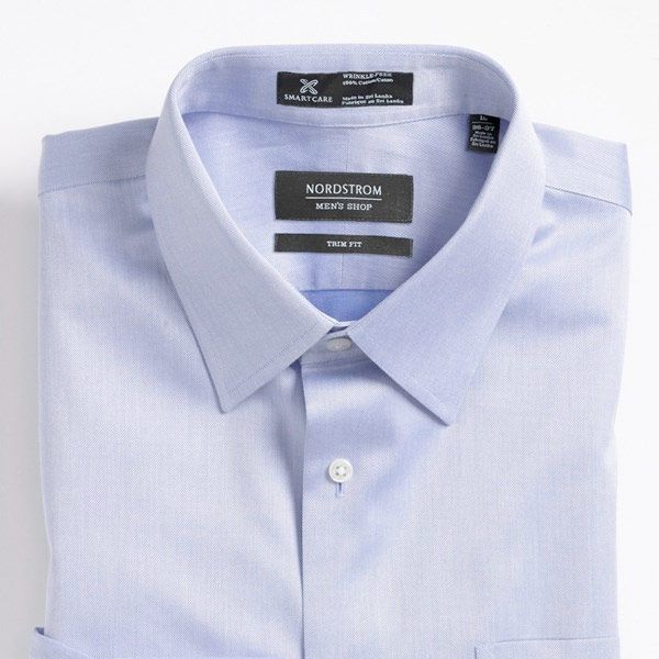 Trim Fit Twill Dress Shirt