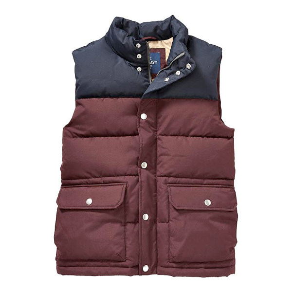 Color-Blocked Vest