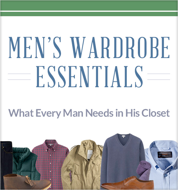 Men's Wardrobe Essentials