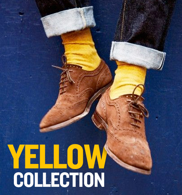 Men's Yellow Pop Style