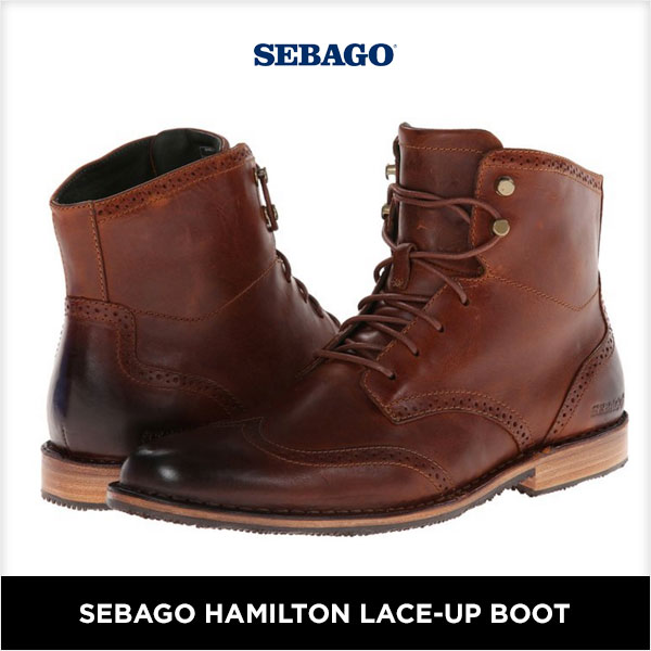 Sebago Hamilton Lace-Up Boot