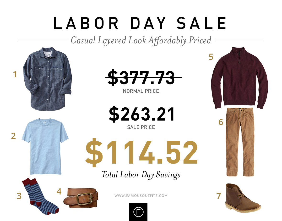 Business Casual Look - Labor Day Outfits
