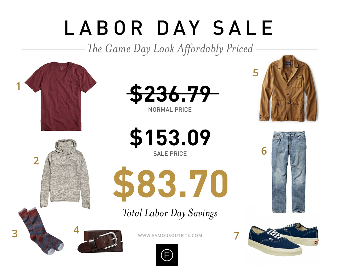 Game Day Look - Labor Day Outfits