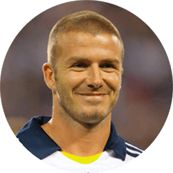 David Beckham Profile Pic