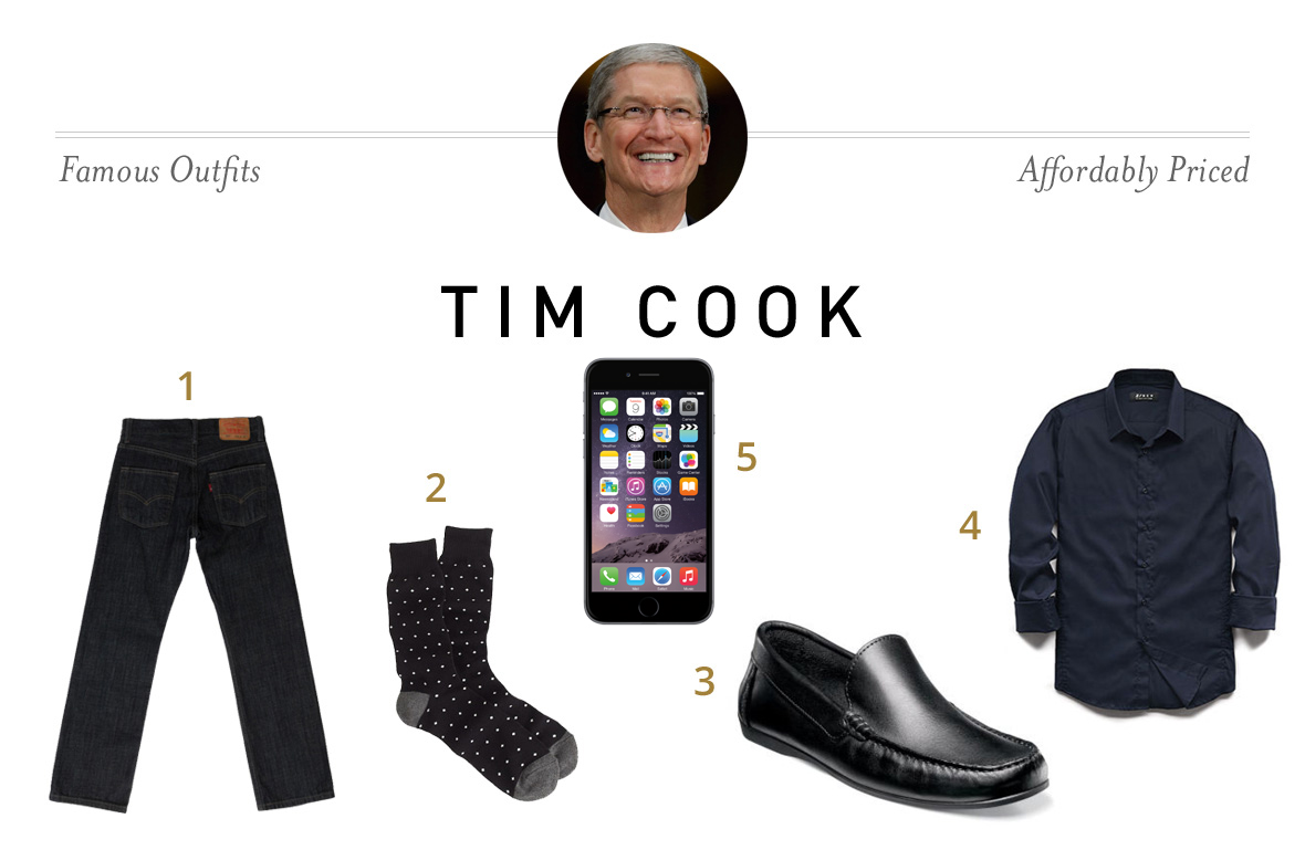 Tim Cook Outfit