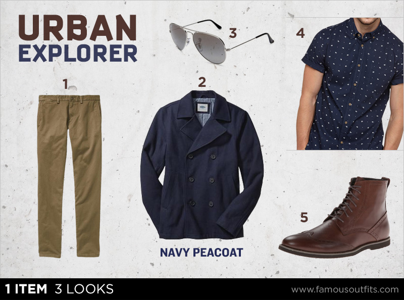 Navy Peacoat - Urban Explorer