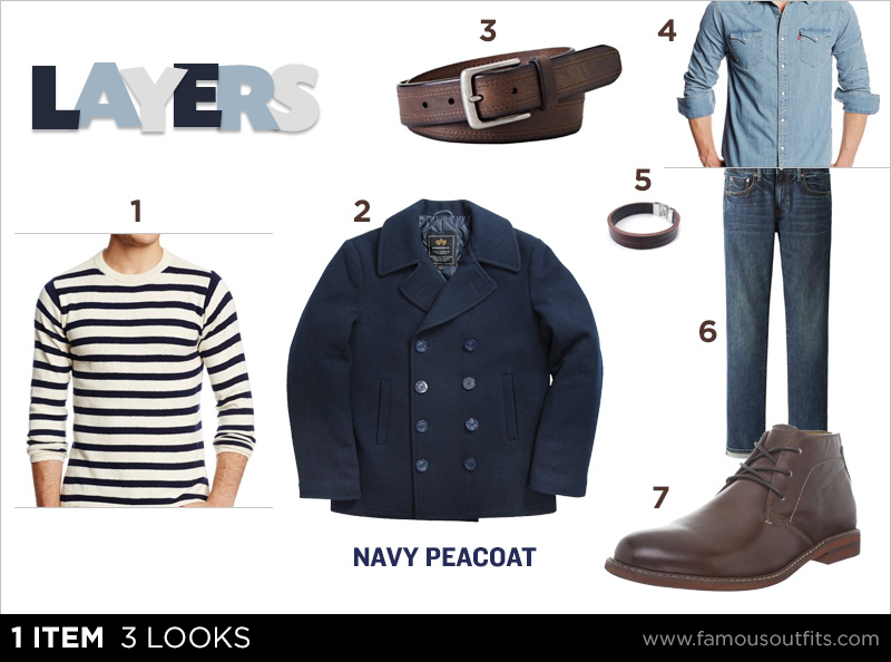 Navy Peacoat - Layers
