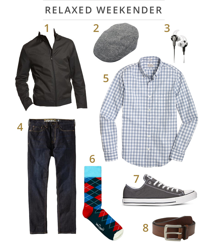 Ryan Reynolds Relaxed Weekender Look