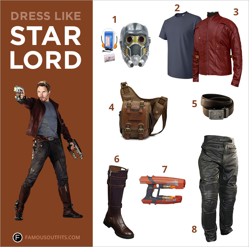 Dress Like Star-Lord (Peter Quill)