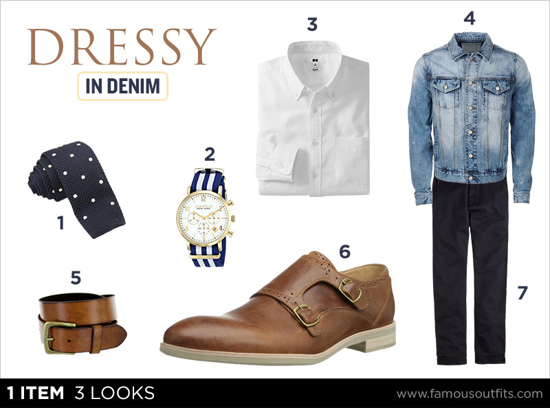 Dressy in Denim - The Denim Jacket
