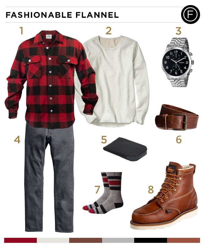 Nick Jonas Fashionable Flannel Look