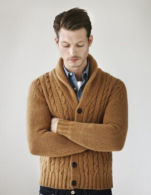 Men 39 S Cable Knit Style Famous Outfits