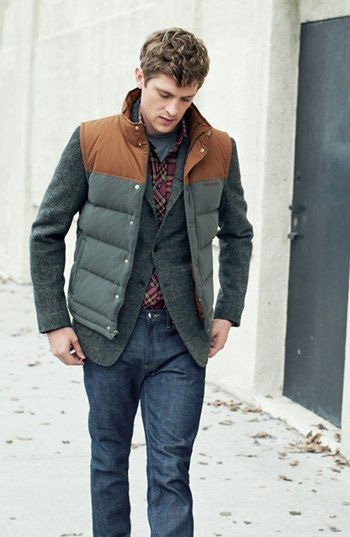 Men S Down Vest Collection Famous Outfits