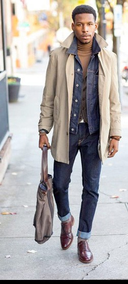 Men's Fall Fashion Inspiration | Famous Outfits