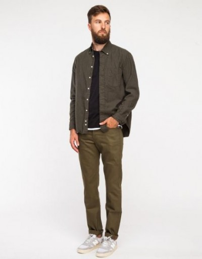 What To Wear With Olive Green Shoes