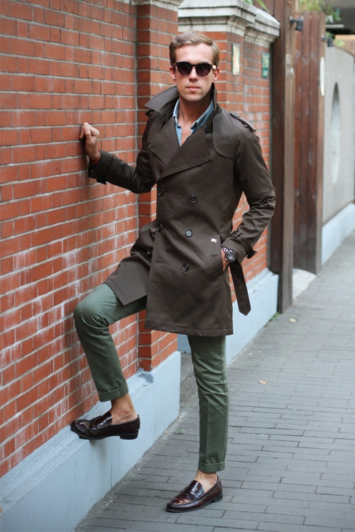 Green And Olive Pants Style For Men Famous Outfits