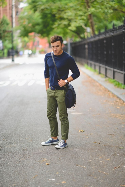 Green And Olive Pants Style For Men Famous Outfits,Colors That Go With Dark Grey