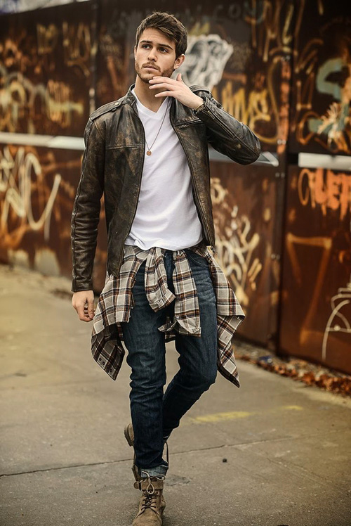 Plaid Flannel Shirts Inspiration For Men Famous Outfits
