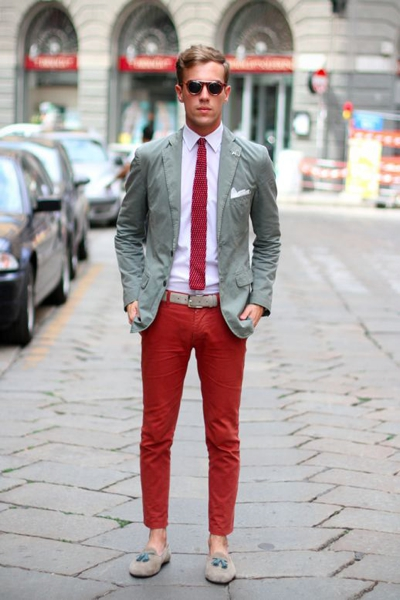 Menu0026#39;s Red Pants Inspiration | Famous Outfits