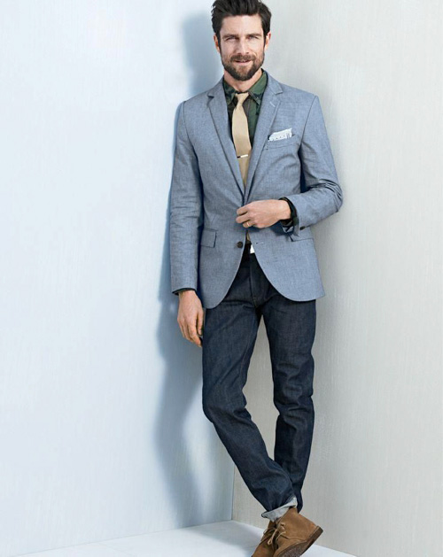 Wear A Tie With Jeans Famous Outfits