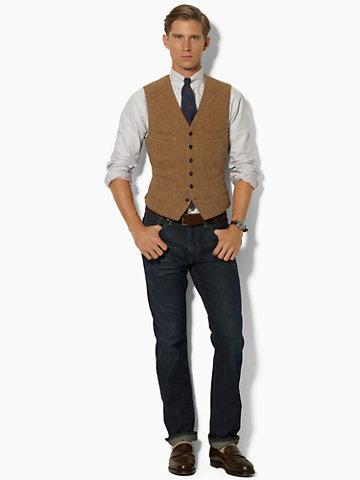 Wear a Tie with Jeans