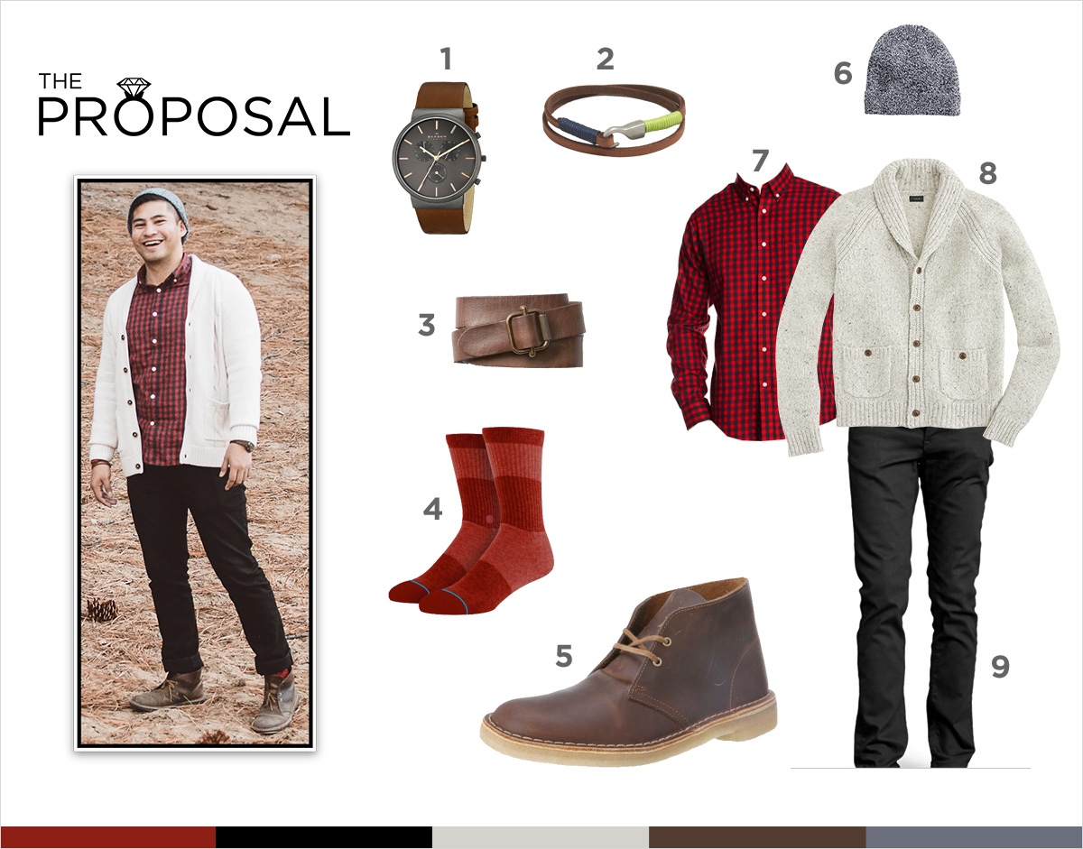 Proposal Outfit