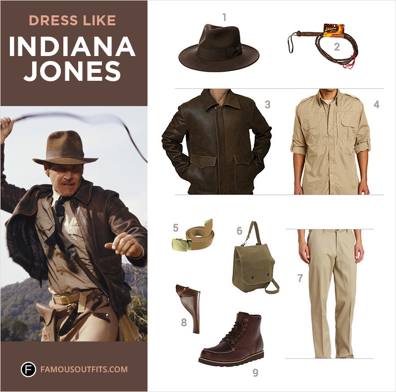 Dress Like Indiana Jones