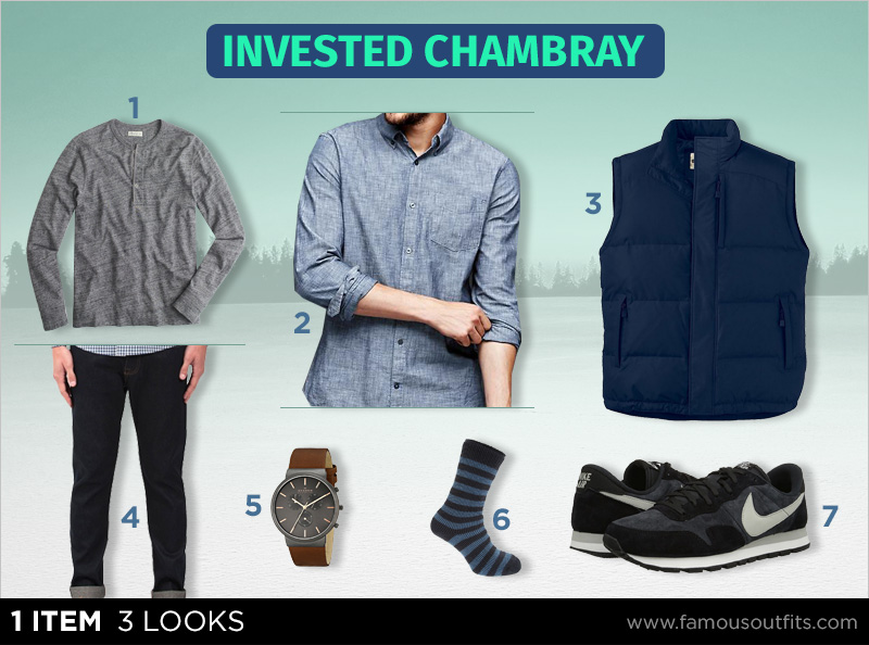 Invested Chambray - 1 Item 3 Looks