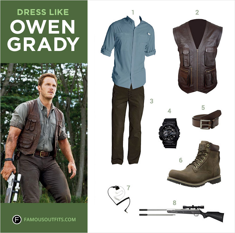 Dress Like Owen Grady