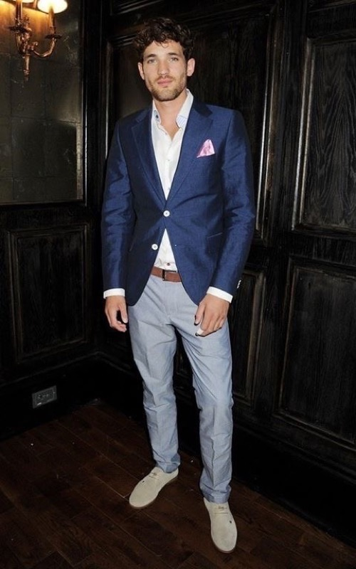 Navy Blazer/Sportcoat   Famous Outfits