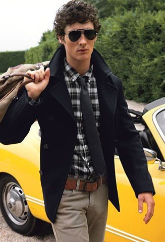 Peacoat Fashion   Famous Outfits