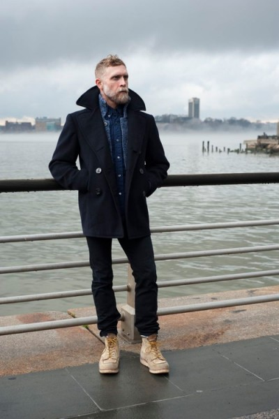 Pea Coat Mens Fashion | Down Coat