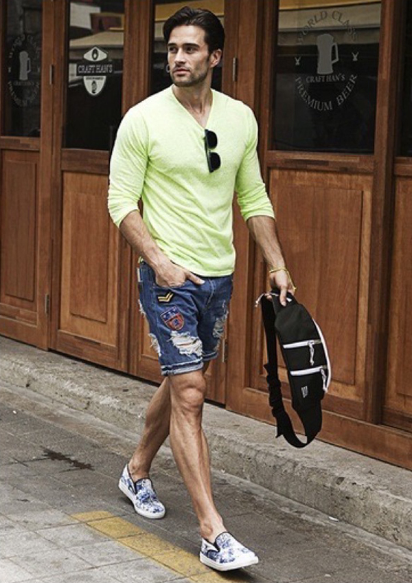 To acquire Style summer men picture trends