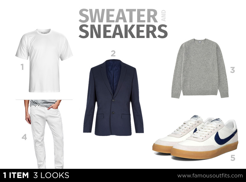 Sweater and Sneakers - 1 Item 3 Looks