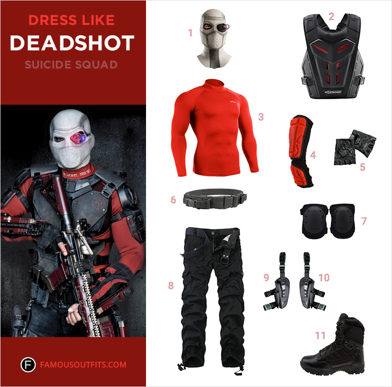 Dress Like Deadshot