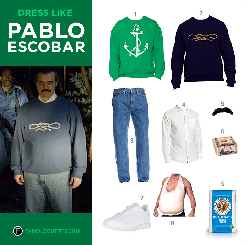 Dress Like Pablo Escobar