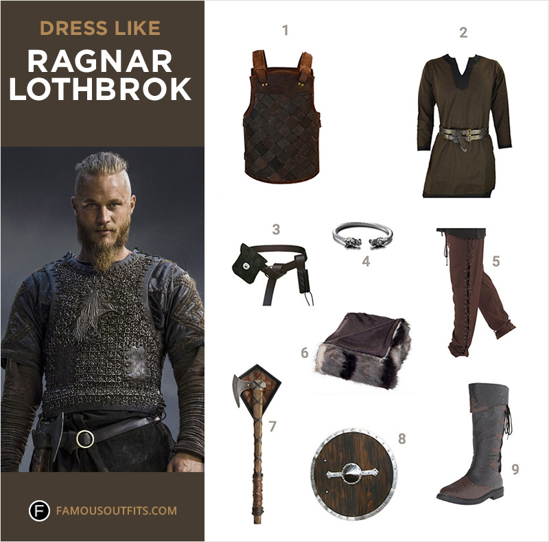Dress Like Ragnar Lothbrok