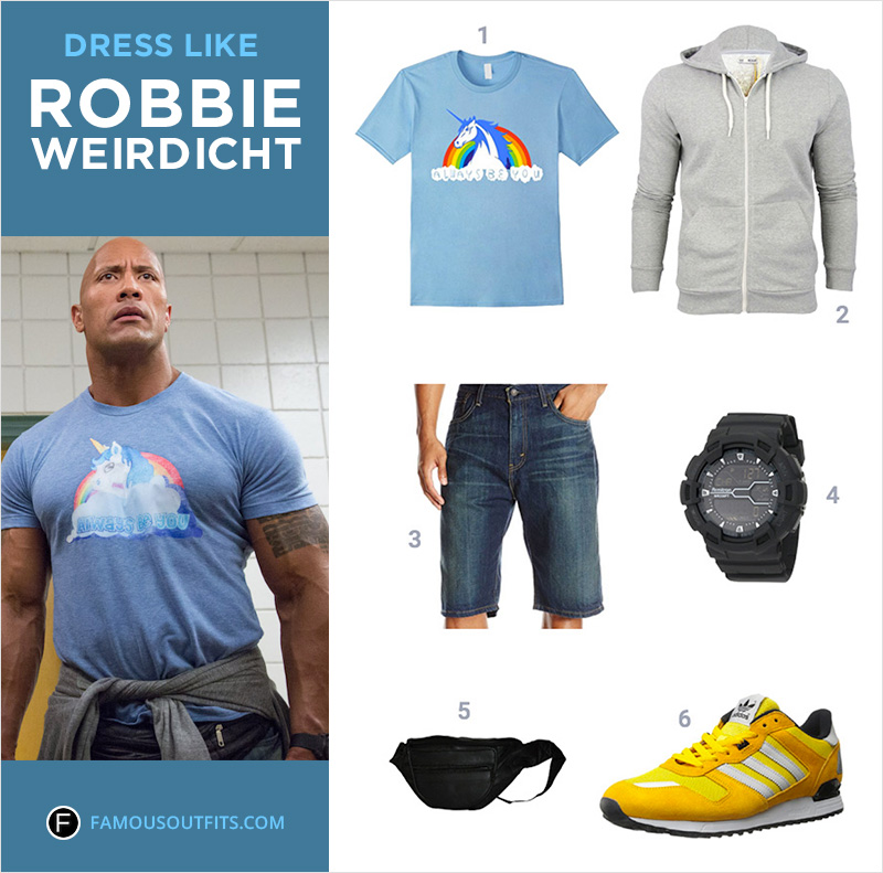 Dress Like Robbie Weirdicht