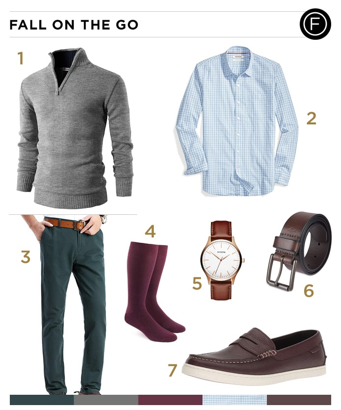 Zac Efron's Fall On the Go Outfit